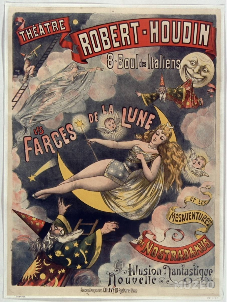 Magician Robert Houdin poster mentioned by Paul Kieve