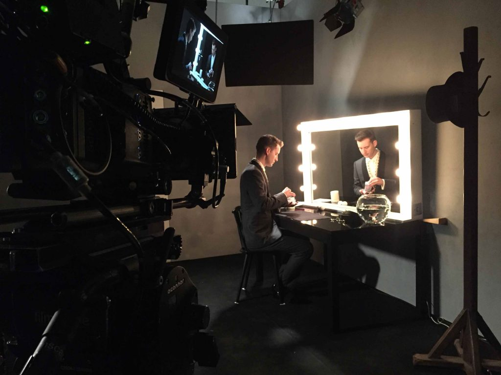 Short magic in film for Canali.