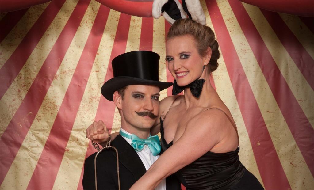 BGT magicians in commercial