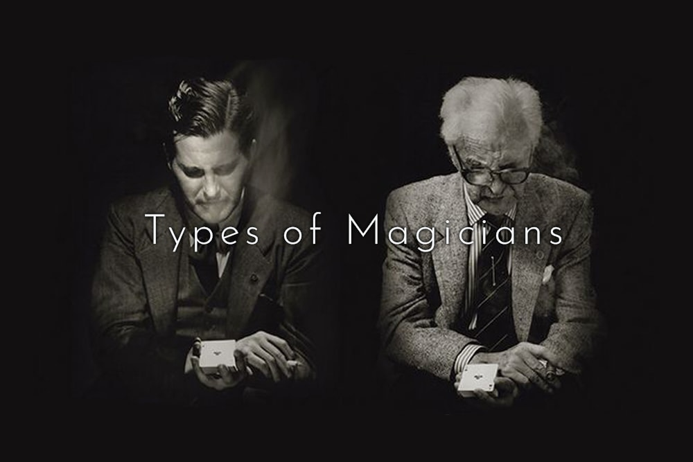 Types of magicians sleight of hand
